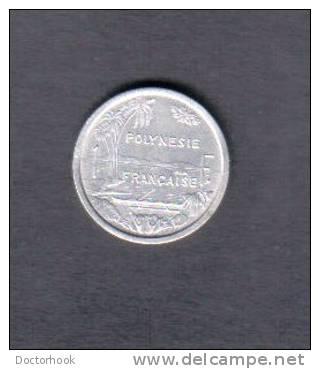 FRENCH POLYNESIA    1 FRANC 1975 (KM # 11) - French Polynesia