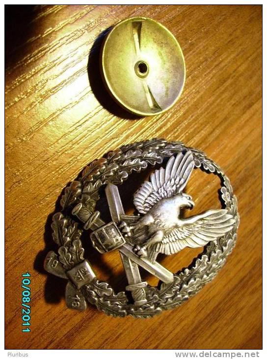 ESTONIA   Pre- WW II  Military  Badge  5th INFANTRY REGIMENT - Army