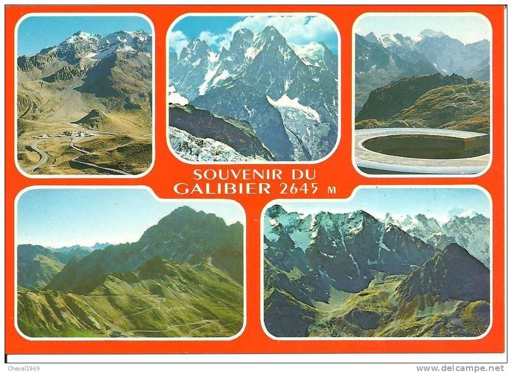 24129 .  Le Col Du Galibier  Multi Vue - Autres Communes