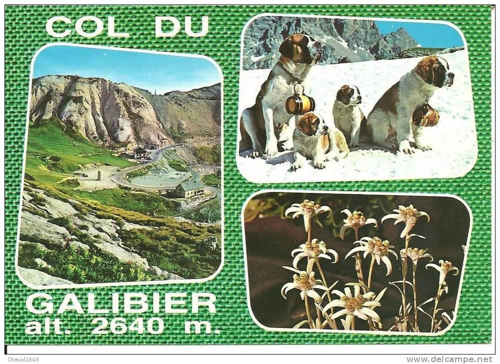 24130 .  Le Col Du Galibier  Multi Vue - Autres Communes