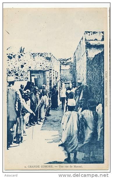 Grande Comore Une Rue De Moroni No 2 - Comores