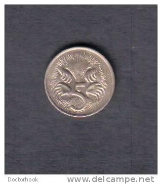 AUSTRALIA    5  CENTS 1977 (KM # 64) - Australia