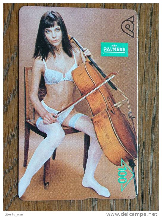 PALMERS Plakat Frühjahr 1997 / Ivona Hlavata ! - Telefoonkaarten