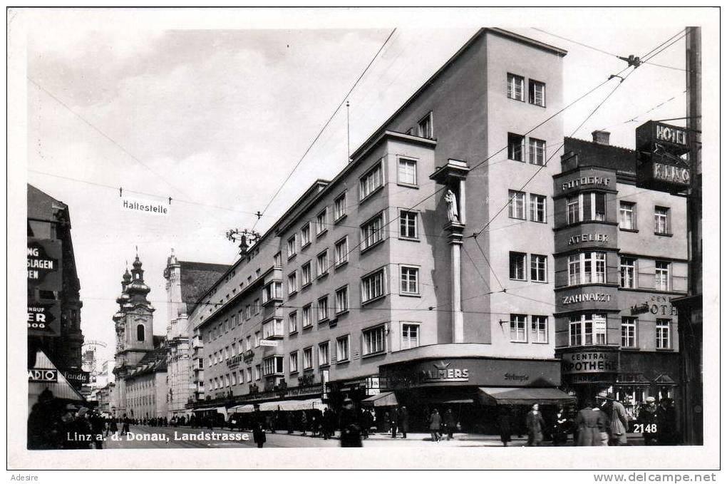 Rar! LINZ a.d. Donau, Landstrasse, Palmers, Zentral-Apotheke, Kino ...
