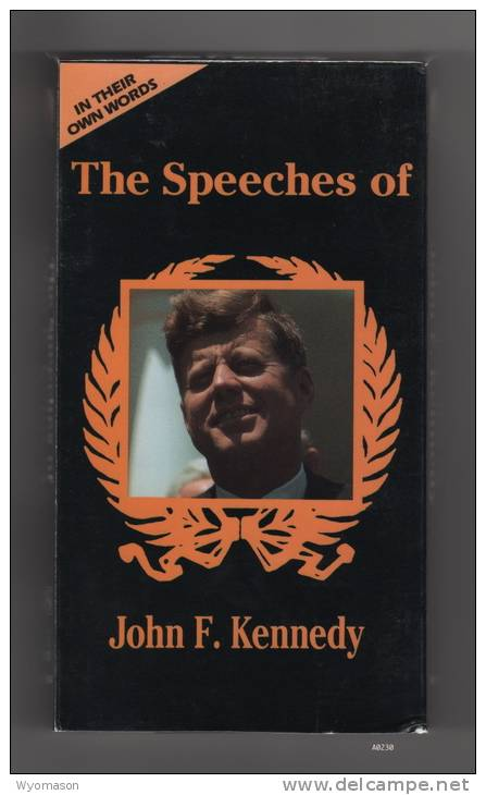 The Speeches Of John F. Kennedy - VHS [#A0230] - Documentary