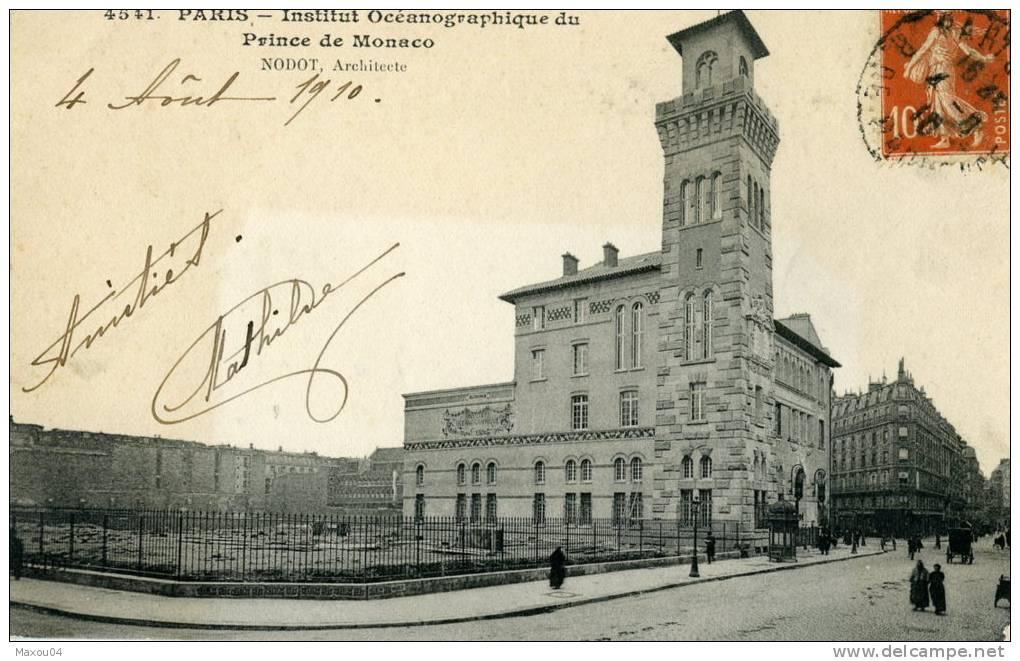 Paris - Institut Océanographique Du Prince De Monaco - Nodot Architecte - France