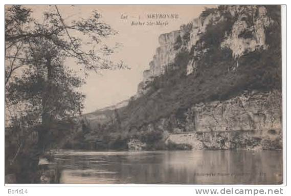 46-5915   -  MEYRONNE  -  Vue Génèrale - France