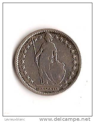 Piéce En Argent/ 1 Francs/ SUISSE/1903           BIL83 - Monnaies & Billets