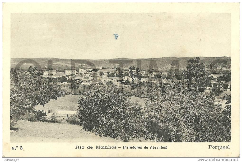 PORTUGAL - RIO DE MOINHOS - VISTA GERAL - 1920 PC - Santarem