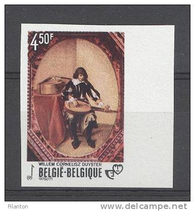 BELGIE - OBP Nr 1827 - ONGETAND/NON-DENTELE - Jeugdfilatelie - MNH**  - Cote 12,50 € - Ongetande