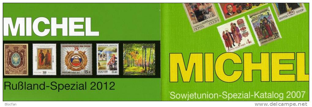 Spezialkatalog Sowjetunion+ Rußland Spezial Katalog 2012 Neu 217€ A-Z With Error On Stamps Catalogue From MICHEL Germany - Livres, BD, Revues