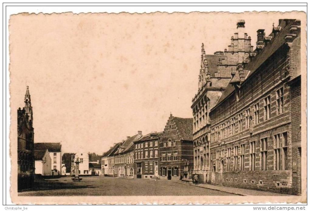Zoutleeuw, Grote Markt (pk5526) - Zoutleeuw