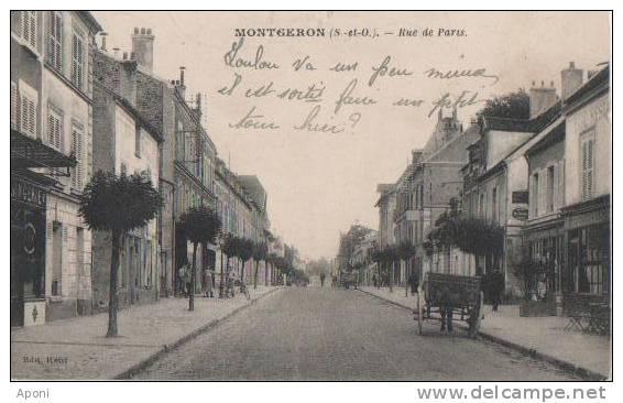 MONTGERON   (rue De Paris . ) - Montgeron