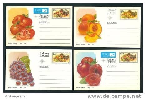 RSA 1982 10 Postcard(s) Fruit - Flowers, Plants & Trees
