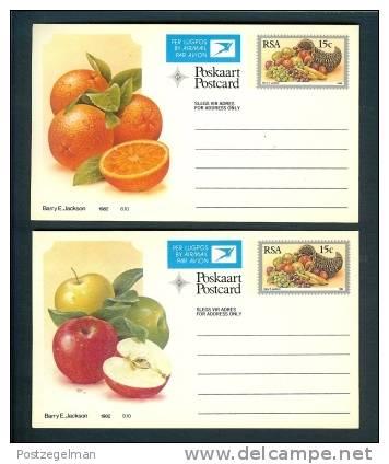 RSA 1982 10 Postcard(s) Fruit - Unclassified