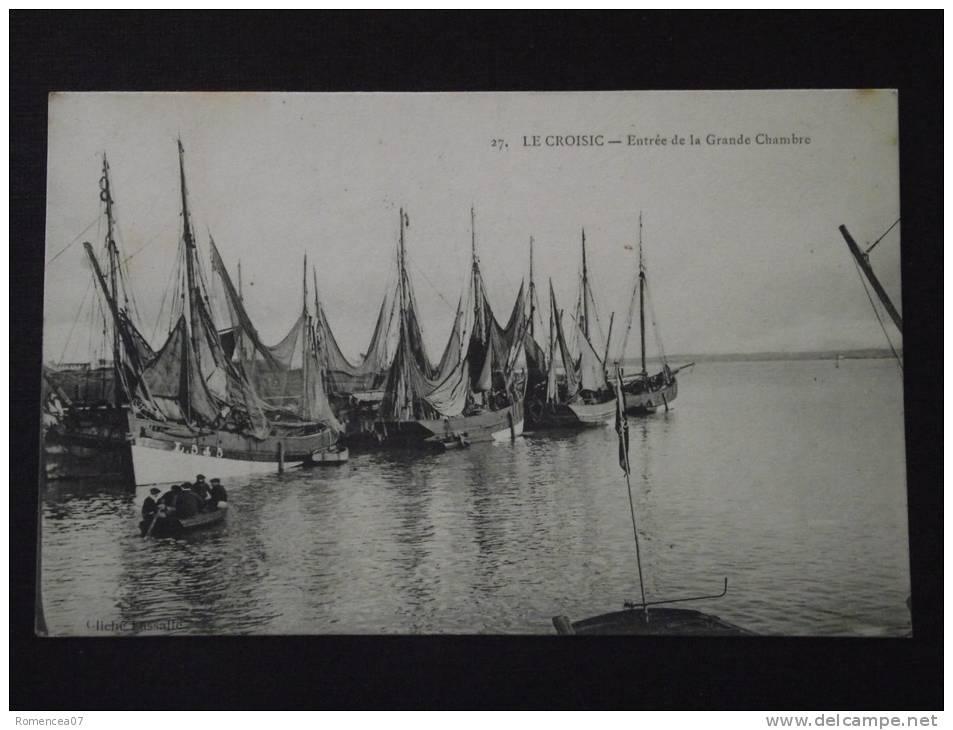 Le CROISIC (Loire-Atlantique) - Entrée De La Grande Chambre - Animée - Voyagée Le 12 Juillet 1906 - Le Croisic