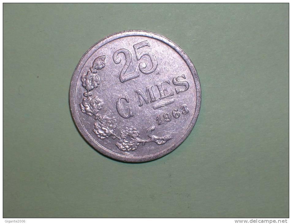 Luxemburgo 25 Céntimos 1963 (3035) - Luxemburgo