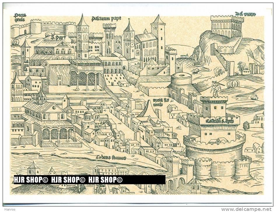 """VEDUTE DEL VATICANO, 4 X Stadtansichten""  Um 1980/1990 Ansichtskarten, - Vatikanstadt"
