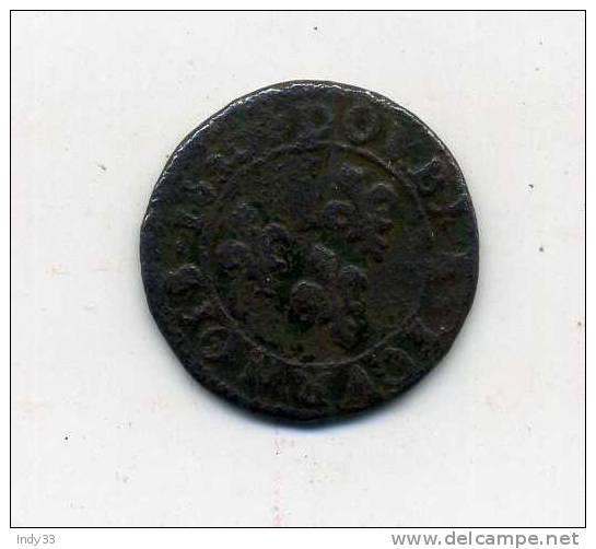 - FRANCE LOUIS XIII . DOUBLE TOURNOI 1630 ? . - 987-1789 Royal