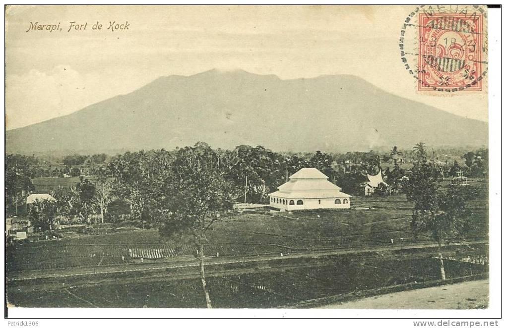 CPA  INDONESIE,  MERAPI, Fort De Kock  3819 - Indonesia
