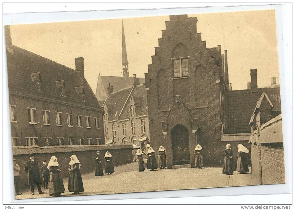 (BELGIQUE) GENT. Mont St Amand. Béguinage. Animée Bonne Soeur Chapelle Des Sept Douleurs - Gent