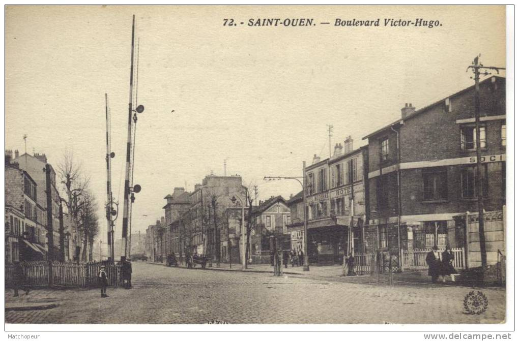 SAINT OUEN 93- BOULEVARD VICTOR HUGO VERSO PUB MEXICO - Saint Ouen