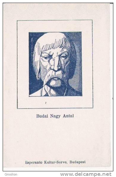 BUDAI NAGY ANTAL . ESPERANTO KULTUR SERVO BUDAPEST - Esperanto