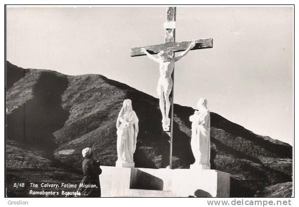 THE CALVARY FATIMA MISSION RAMABANTA'S BASUTOLO  (CARTE PHOTO)  48  LESOTHO - Lesotho