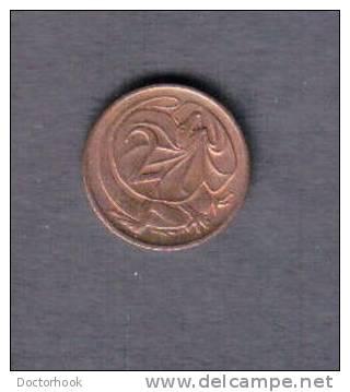 AUSTRALIA   2  CENTS  1977  (KM # 63) - Australia