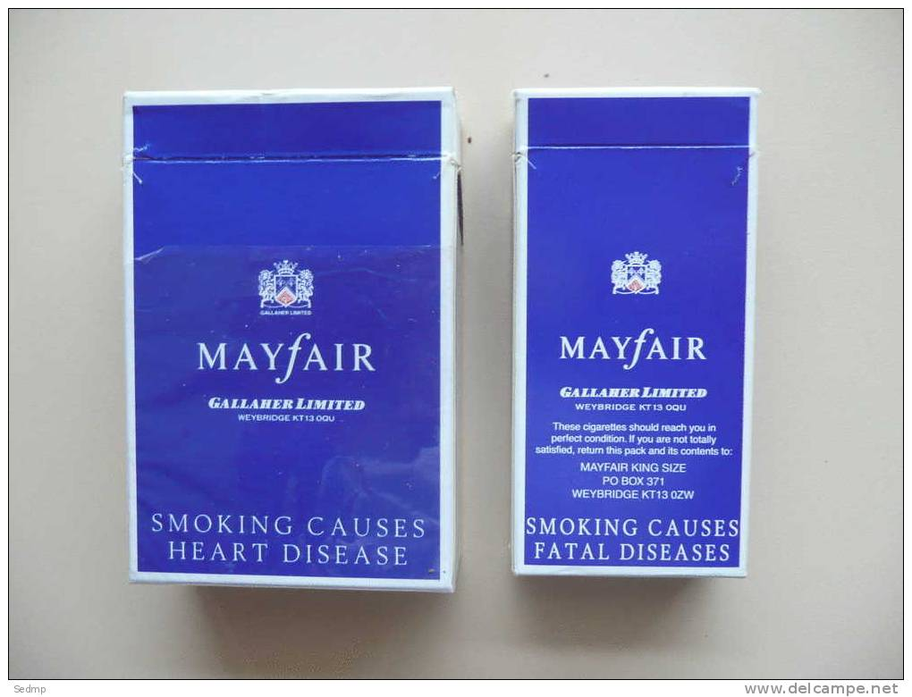 Price of 20 cigarettes Salem