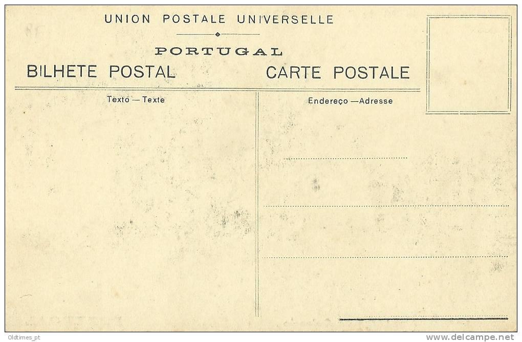 PORTUGAL - BENAVENTE - LARGO DO CALVARIO - TERRAMOTO DE ABRIL DE 1909 - 1910 PC - Santarem