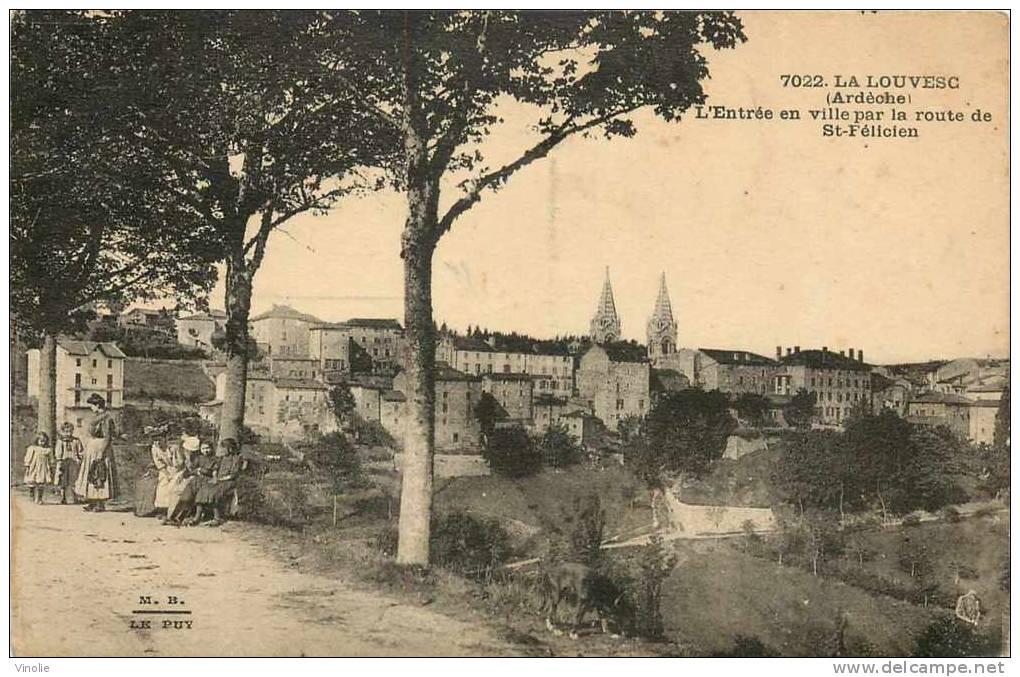 : Réf : G-12-1498  :   La Louvesc - La Louvesc