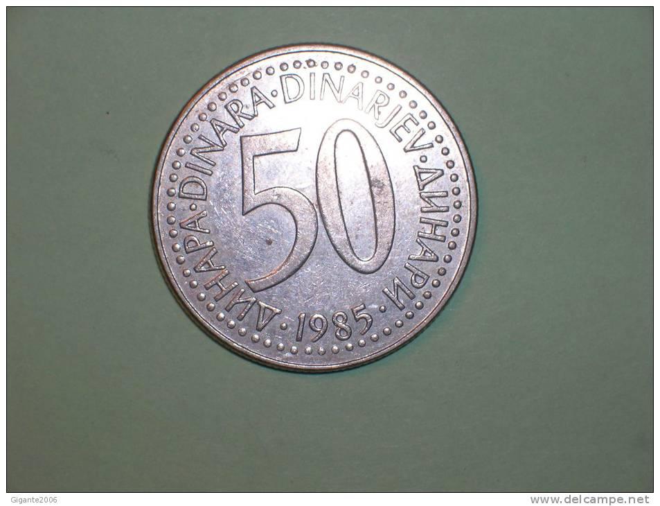 Yugoslavia 50 Dinares 1985 (3671) - Yugoslavia