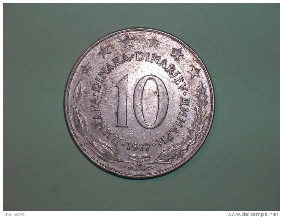 Yugoslavia 10 Dinares 1977 (3672) - Yugoslavia