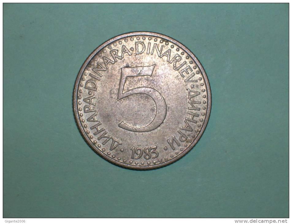 Yugoslavia 5 Dinares 1983 (3685) - Yugoslavia