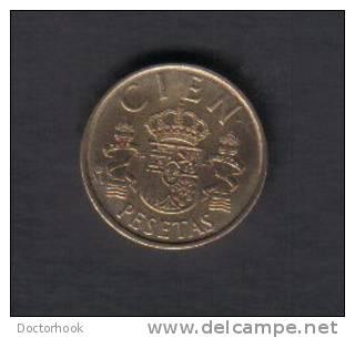 SPAIN   100  PESETAS  1984  (KM # 826) - [ 5] 1949-… : Kingdom