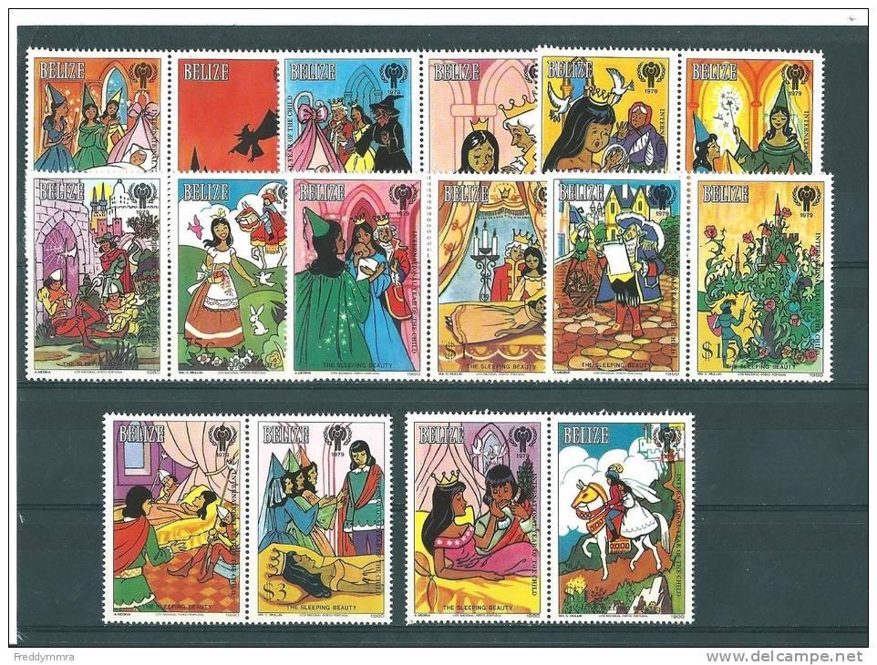 Belize: 495/ 502 ** - Belize (1973-...)
