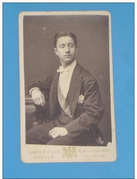 PHOTO CDV  Prince Imperial Napoleon 4 (voir Medaille Avec Aigle) - Photos