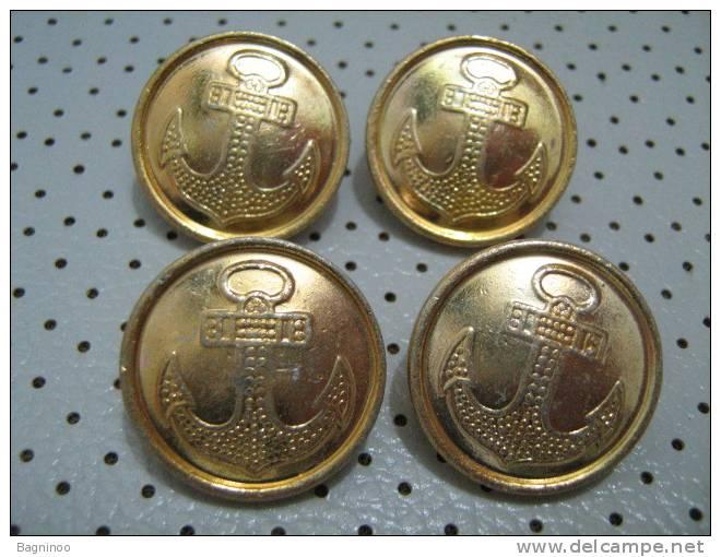 RUSSIA Navy Button - Uniforms