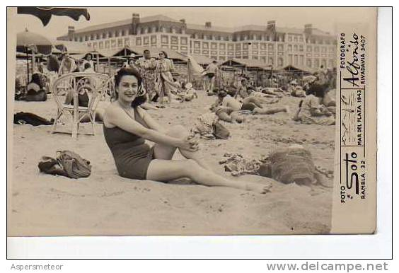 Botiquin Para Baño En Mar Del Plata:1943 AÑO TRAJES DE BAÑO MAR DEL PLATA ARGENTINA OHL – Delcampenet