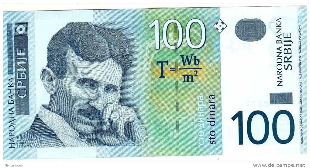 Serbie 2004 NOTE 100 DINARA Unc - Serbie