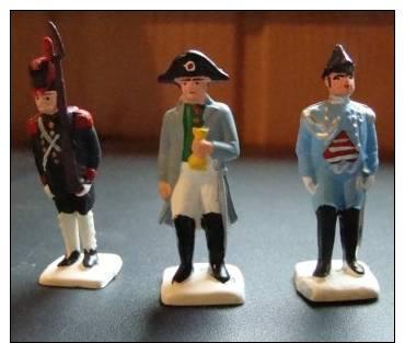 Lot N° 3 De 3 Figurines  Napoléon - Leger