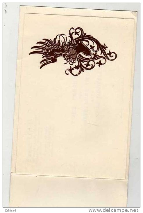 A 4 Volets-Art -Robert Louis-Artiste Héraldiste-Dessinateur Symboliste-Vincennes -Personnage Historique Gen. Daumesnil - Fantaisies