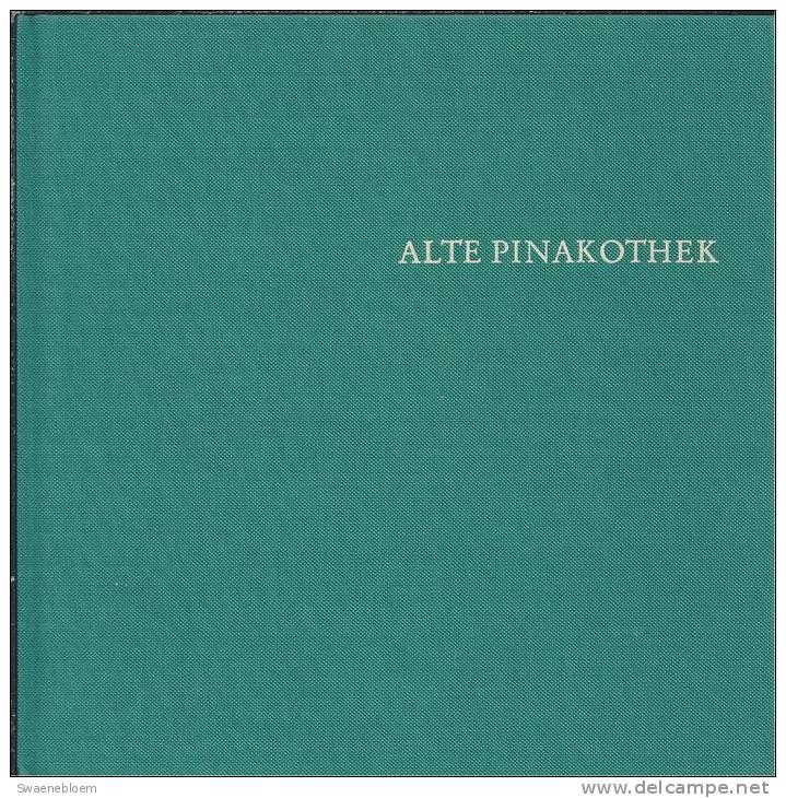 DE.- Bücher - Catalogi - ALTE PINAKOTHEK MUNCHEN - (schilderkunst) Door Kurt Martin. 5 Scans - Catalogi