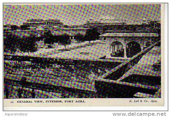 GENERAL VIEW, INTERIOR, FORT AGRA   INDIA  OHL - India