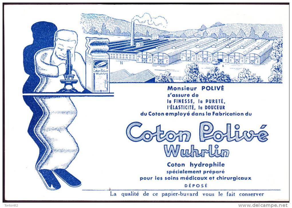 Buvard - Coton Polivé Wuhrlin - Produits Pharmaceutiques