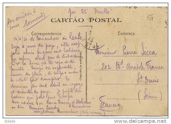 Recife 42 Camara Dos Diputados E Gymnasio Banco Francez E Italiano SS Mosella Maritime - Recife
