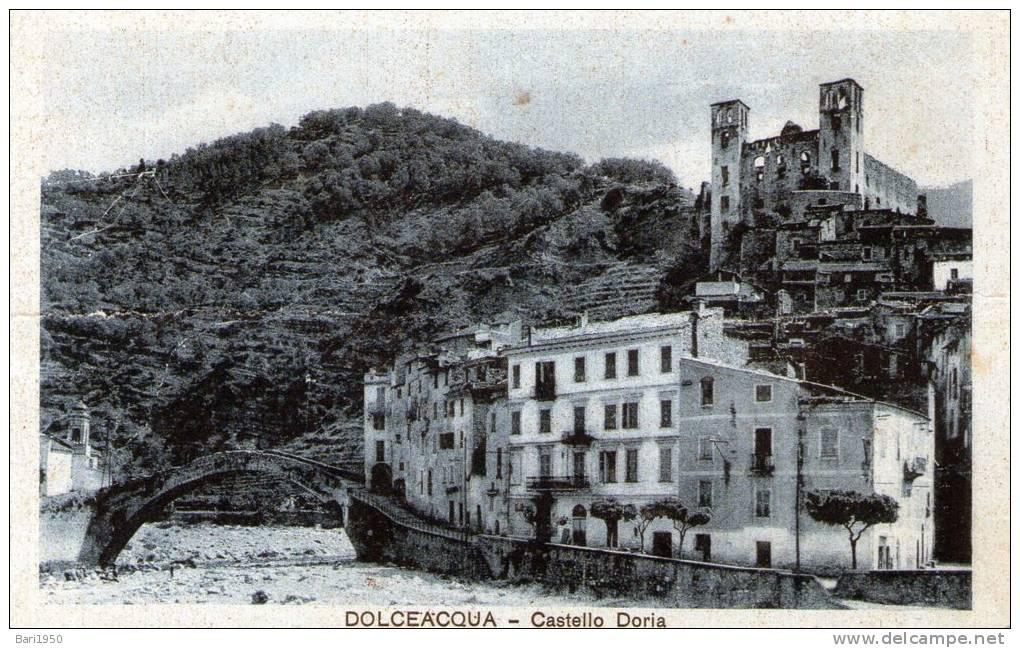 """Bellissima Cartolina D´epoca   """" DOLCEACQUA - Castello Doria """" - Genova (Genoa)"""