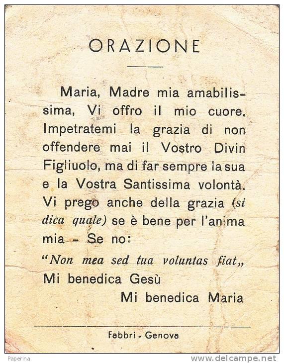 SANTINO BEATA VERGINE DEL BUON CONSIGLIO SANTUARIO DI VILLA DI SERIO - Devotion Images