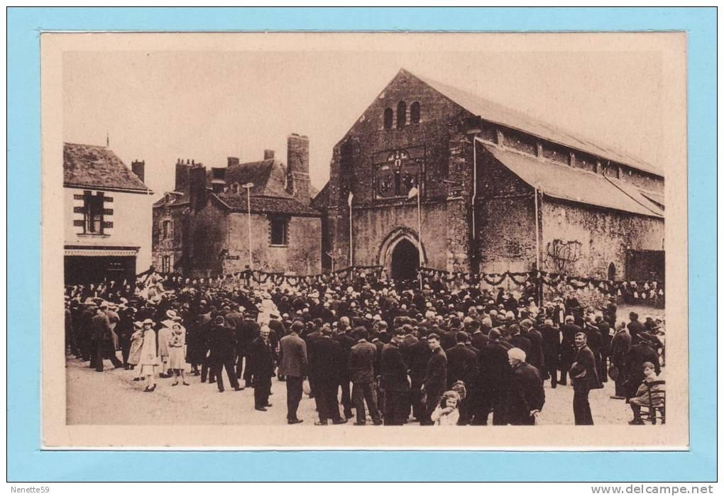 SAINT PHILBERT DE GRAND LIEU - 11 Juin 1936 - Souvenir Des Fêtes Transfert Corps St Philibert - Saint-Philbert-de-Grand-Lieu